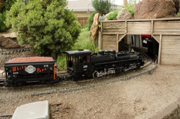 G scale train
