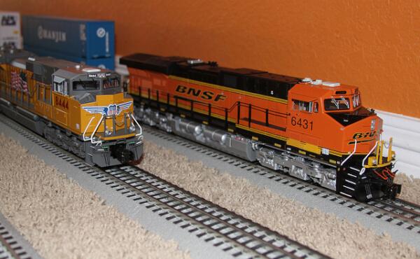 O scale train