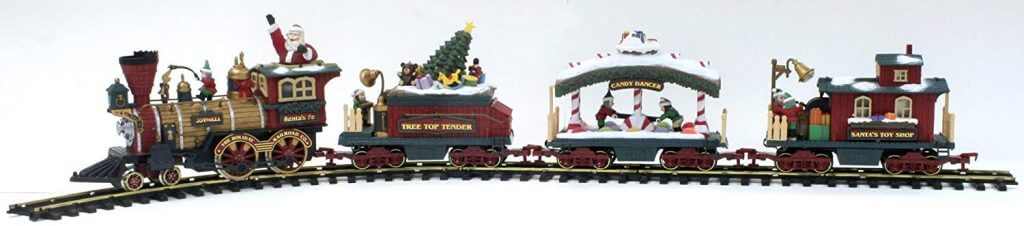New Bright Holiday Express Train