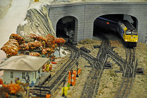 Z scale Trains