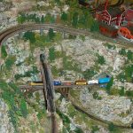 How to make model train mountains and hills for your layout