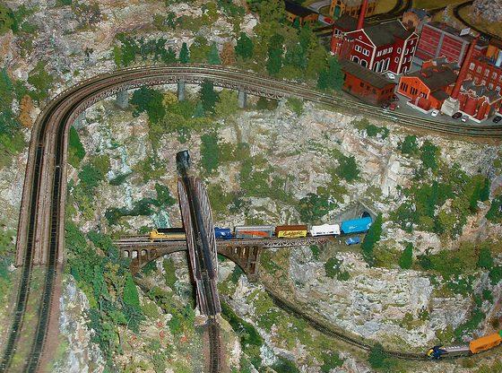 Model Train Hills
