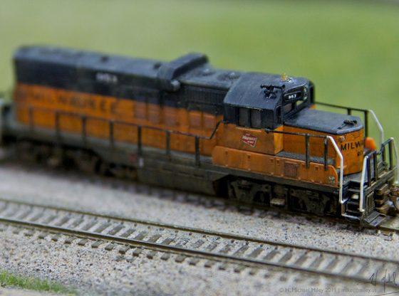 Ballast Train Track