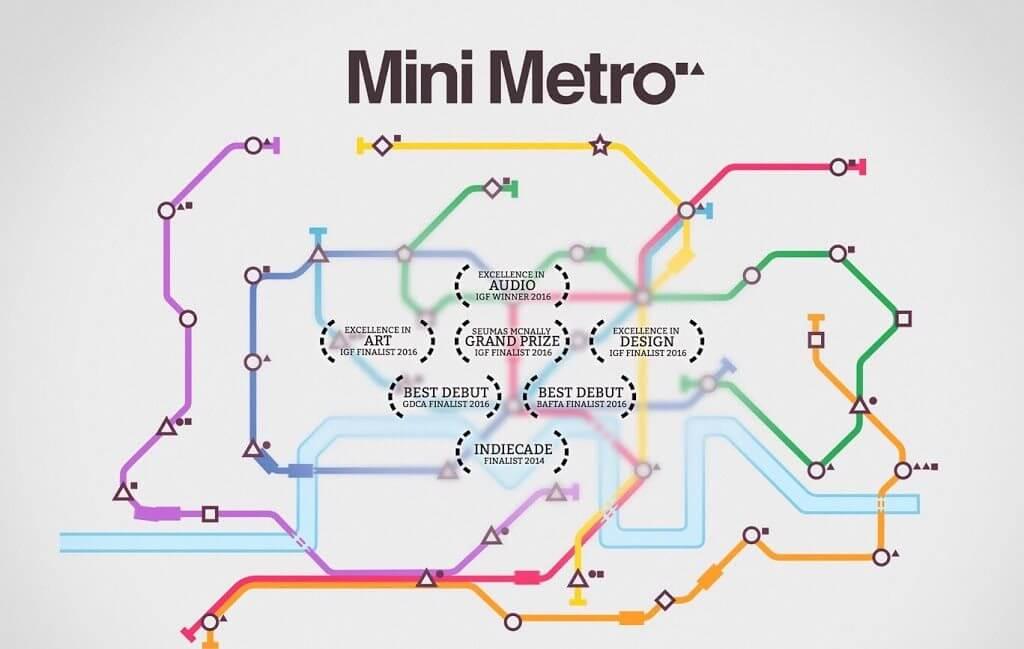 mini metro ios game