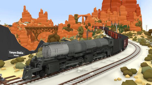 rolling line model train