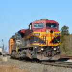 GE Genesis AC4400CW - the First AC-Traction Diesel Engine Locomotive